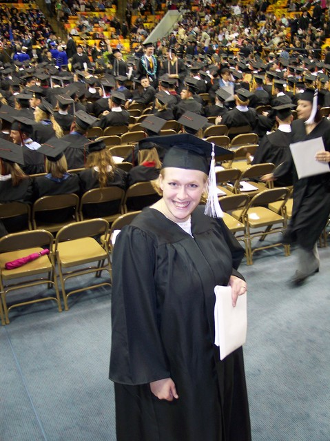 Camille at her Graduation from Utah State University