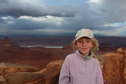 Emma at Dead Horse Point