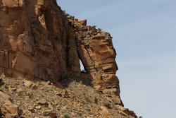 Slide Arch in Sego Canyon
