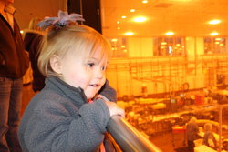 Kaitlyn at Tillamook Cheese Factory