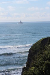 Tillamook Rock Lighthouse at Ecola State Park