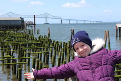 Emma at Astoria, Oregon