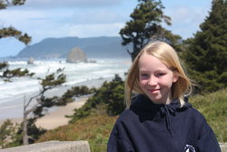 Emma at Cannon Beach