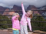 Emma and Sarah in Zion National Park