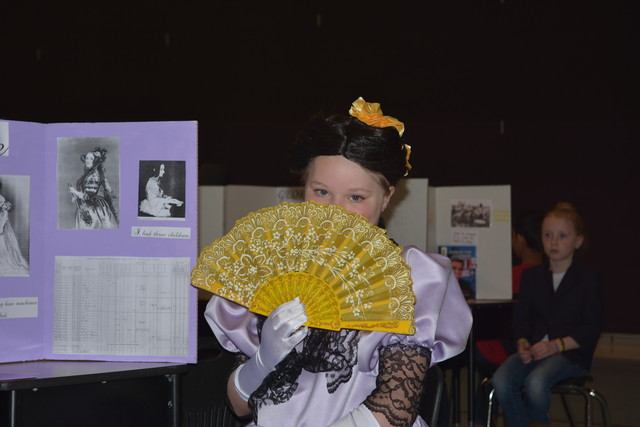 Sarah as Ada Lovelace in her Wax Museum