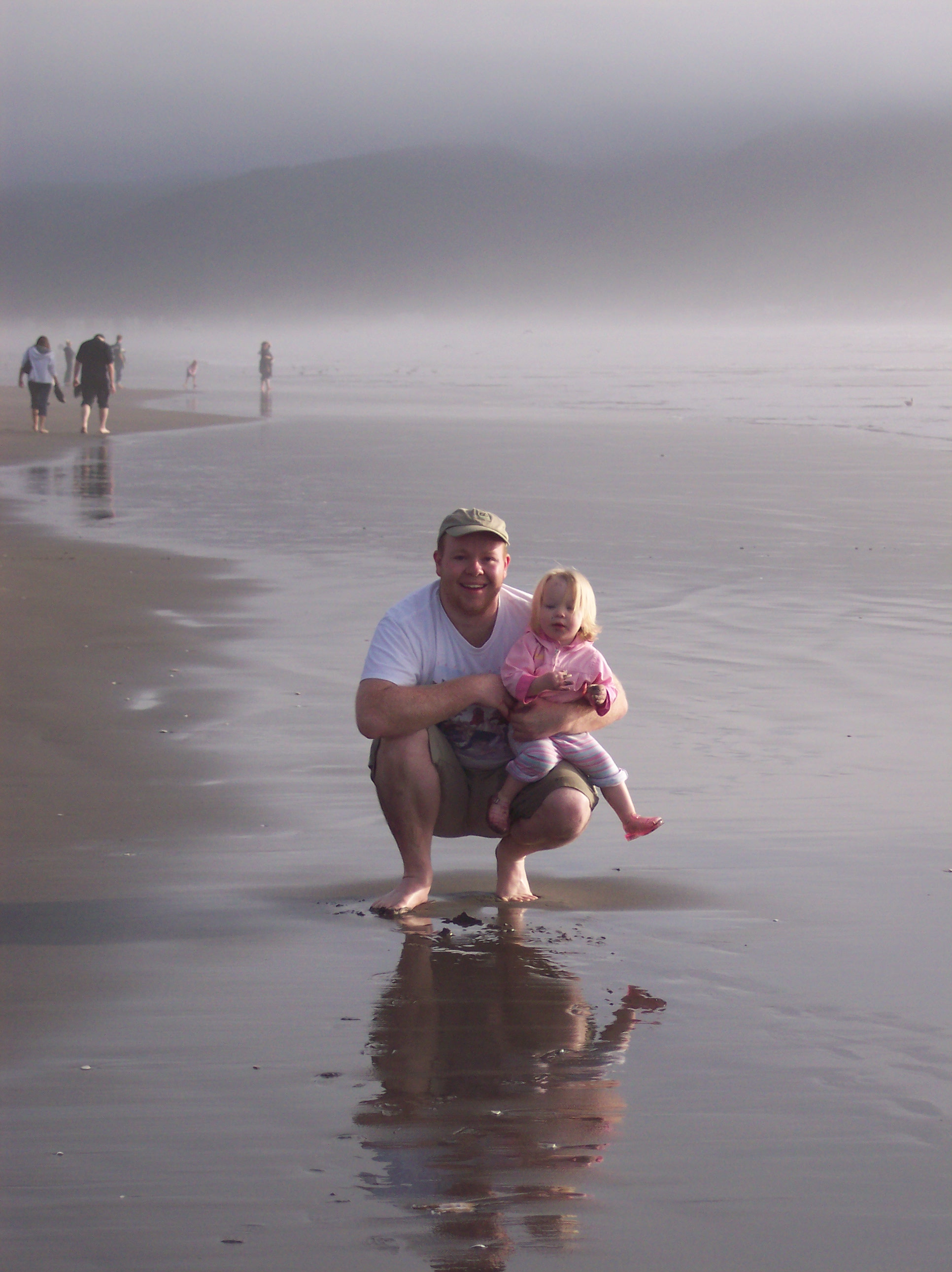 Emma and Steve at Seaside, Oregon