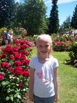 Emma at Portland Rose Garden
