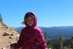 Emma on the Bald Mountain Trail