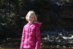 Emma at Provo River Falls
