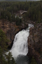 Upper Falls in Yellowstone