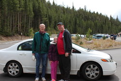 Emma, Steve and Tom in Yellowstone