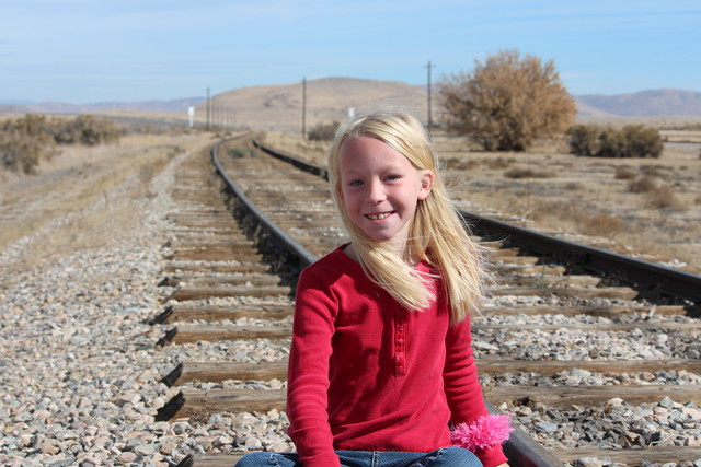 Emma at Golden Spike