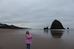 Sarah at Cannon Beach