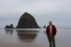 Steve at Cannon Beach