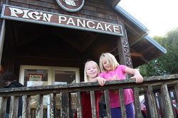 Emma and Sarah at Pig & Pancake