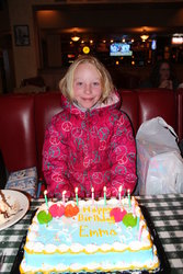 Emma's Birthday Party at Carino's