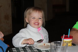 Kaitlyn at Emma's Birthday Party at Carino's