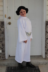 Sarah as Princess Leia