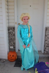 Emma as Elsa from Frozen