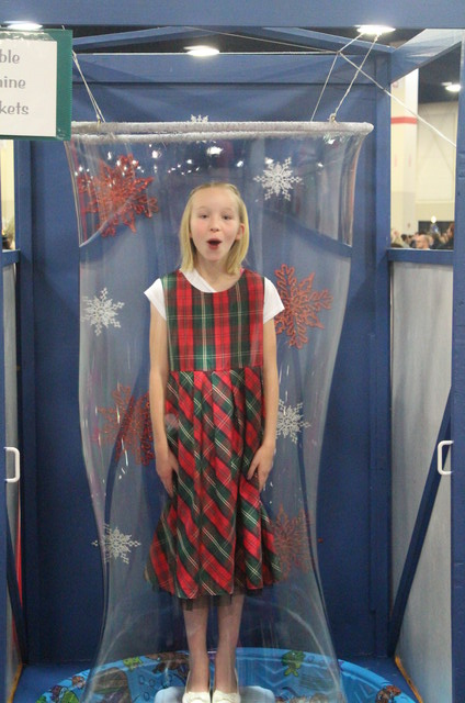 Emma at Festival of Trees