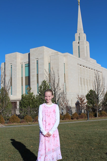 Emma First Time at Temple